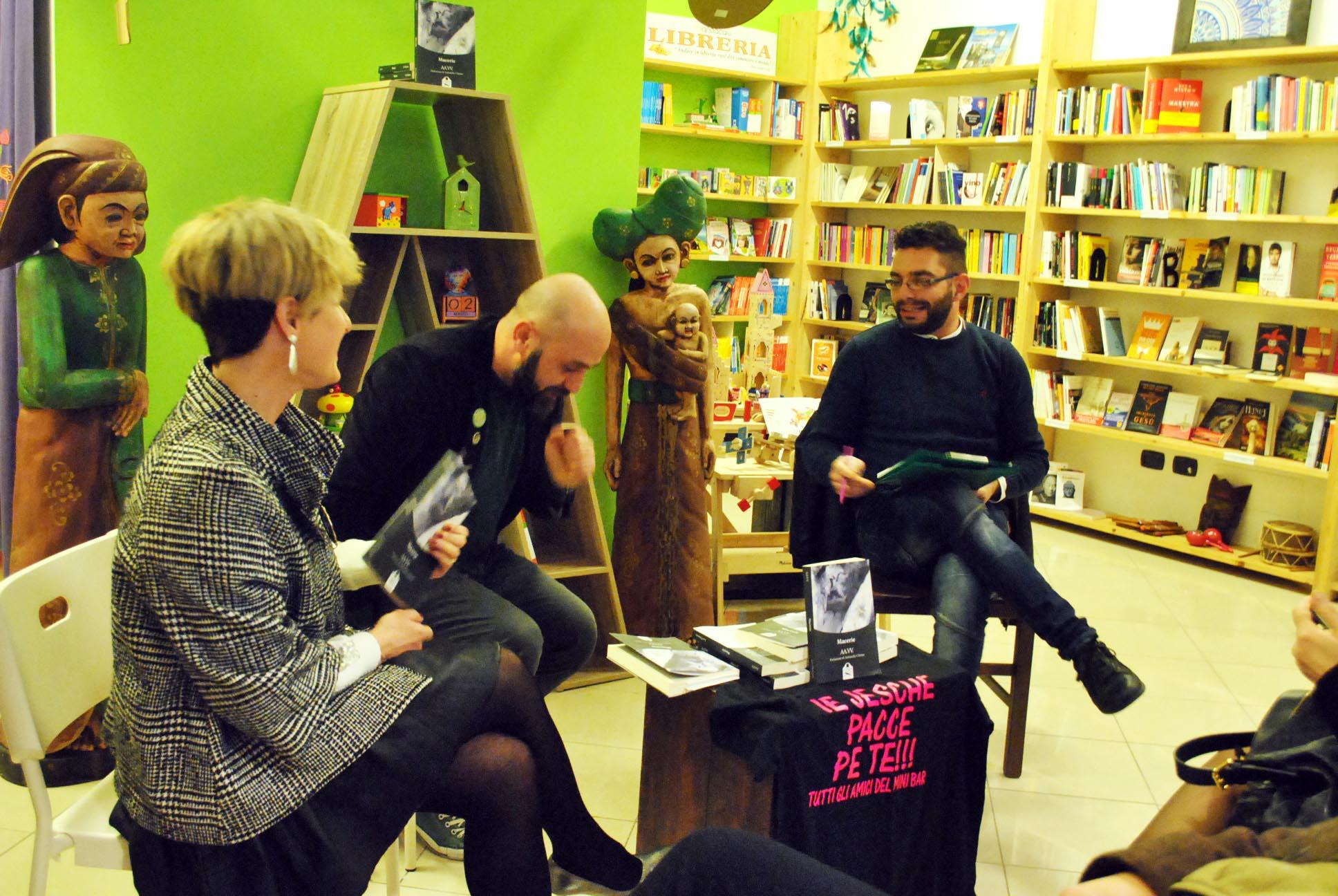 """Primo incontro """"Un Mare di Libri"""" – Libreria Mandacarù"""